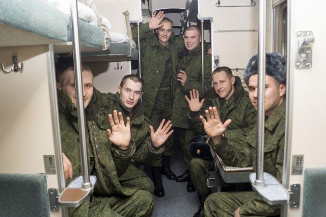 Крымские призывники начнут служить в остальных областях Российской Федерации свесны