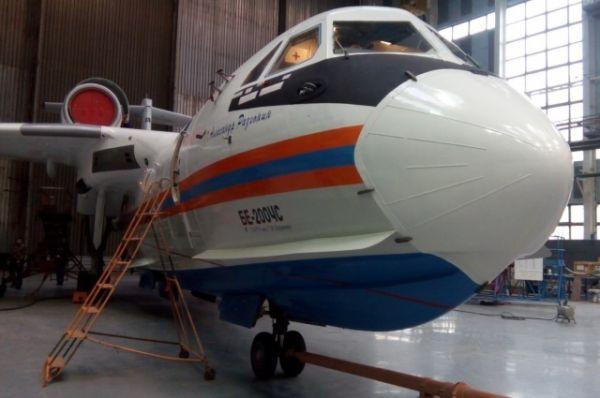 Первому самолёту присвоено собственное имя «Александр Разгонин» – в честь прославленного военного лётчика морской авиации, героя Советского Союза.