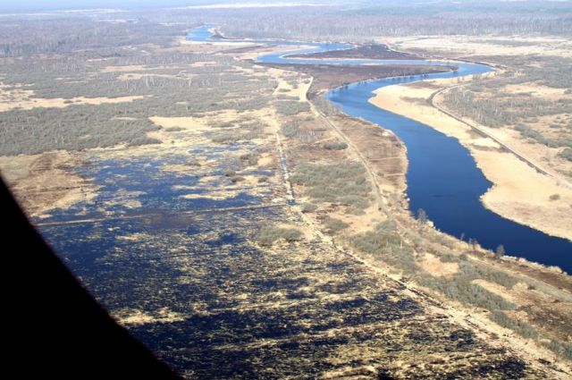 Самолет американских ВВС произвел разведку у границ Калининградской области.
