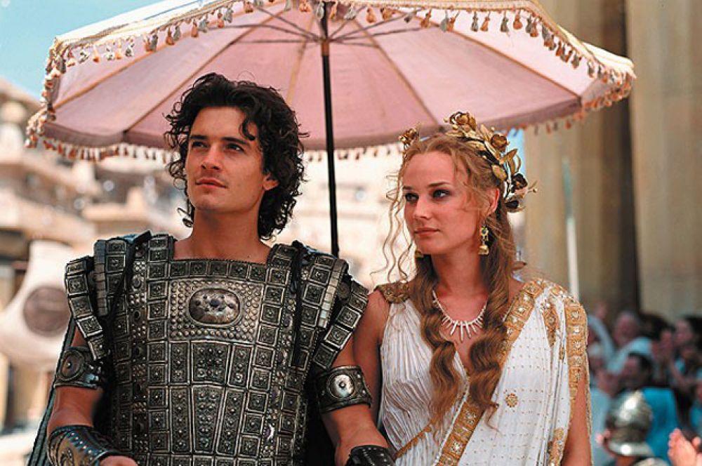 Затем Блум принял участие в очередной крупнобюджетной голливудской картине — исторической драме «Троя» (2004) по мотивам поэмы Гомера «Илиада». Роль Ахилла исполнил Брэд Питт, а Блум сыграл красавца Париса.