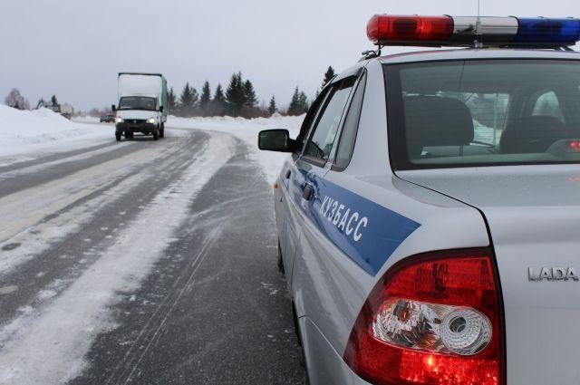 Дополнительные наряды ГИБДД появятся на кузбасских дорогах.