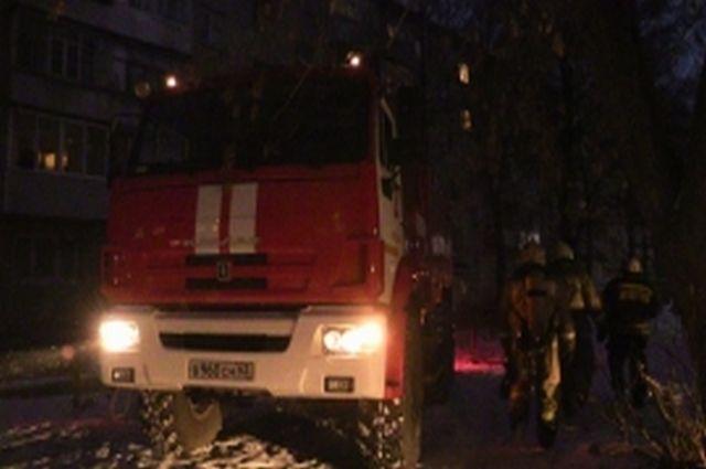 ВНовоспасском районе вспыхнул пожар вжилом доме. Есть пострадавшие