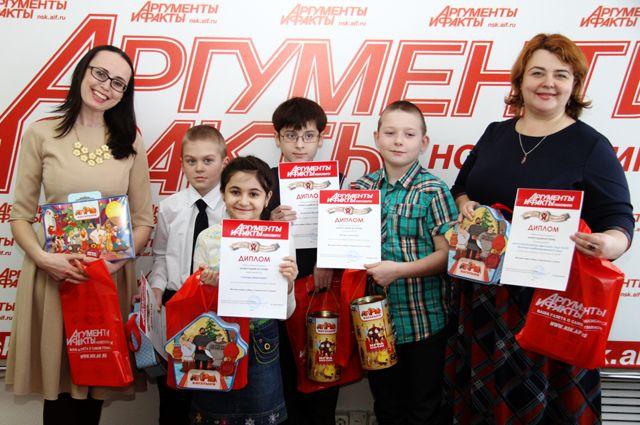 Победители конкурса «Новогодняя история».