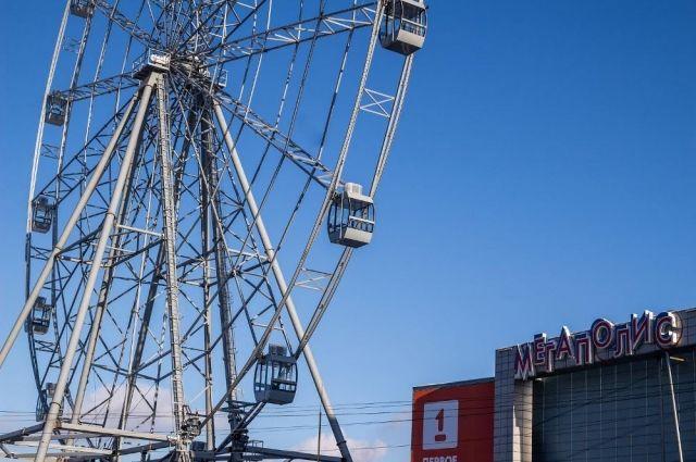 ВЧелябинске запущено самое высокое вгосударстве колесо обозрения