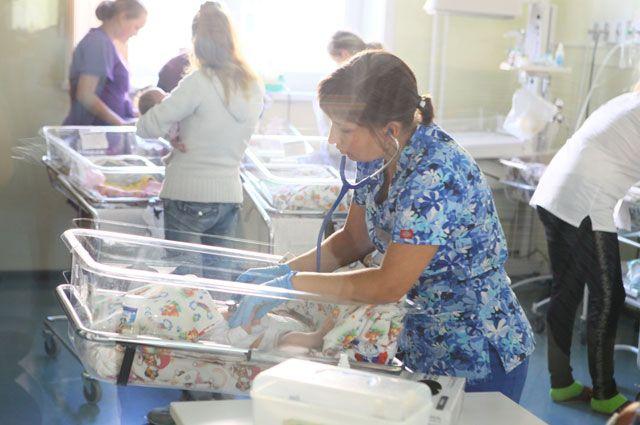 За предыдущий год вПерми родились неменее 18 тыс. детей