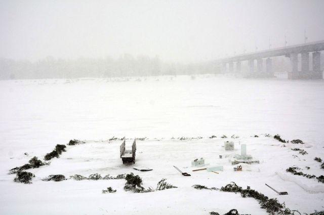 На лед будут пускать до 80 человек.