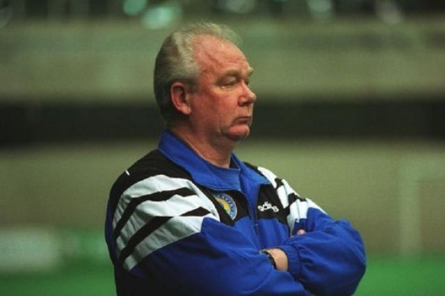Легендарный тренер Динамо Валерий Лобановский