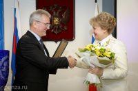 Иван Белозерцев выразил благодарность прокурору Пензенской области Наталье Канцеровой и всему коллективу ведомства за совместную деятельность в 2016 году.
