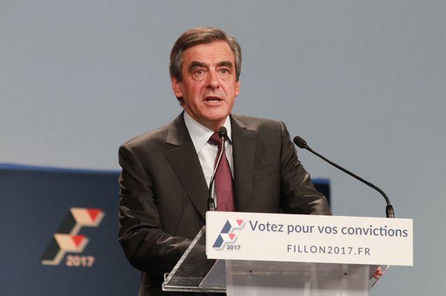 Франсуа Фийон стал официальным кандидатом отправых напост президента