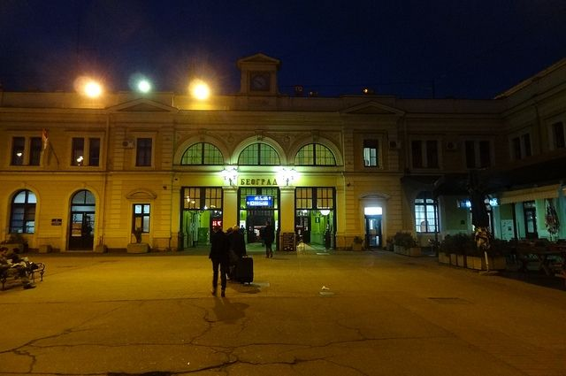 Сербский поезд из-за угрозы безопасности недоехал доКосово