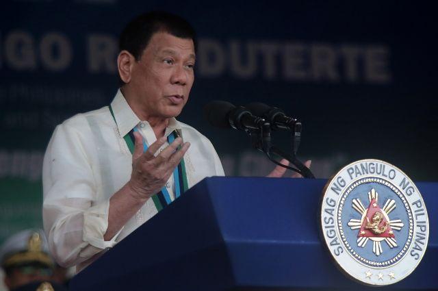 президент филиппин исключил введения военного положения стране