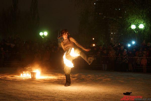 Всего на «Крещенские огни» съехались десятки участников из Пермского края и соседнего Екатеринбурга.