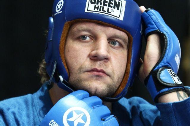 СМИ рассказали о планах бойца Александра Емельяненко вернуться на ринг
