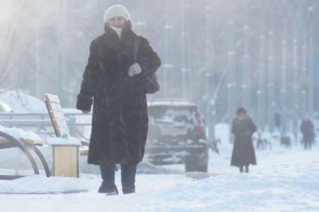 Из-за понижения температуры воздуха в городе наблюдается сильная загазованность.
