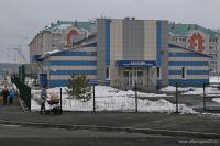 Новая школа с бассейном в Барнауле