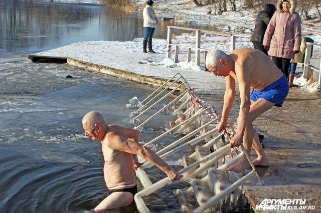 На Крещение в Калининградской области подготовят более 10 мест для купания.