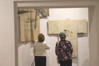 В коллекции Александры Барковой более 200 кимоно.