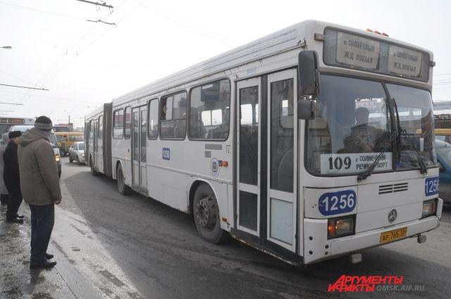 Правильные в Омске маршруты или нет, пока ещё выясняется.