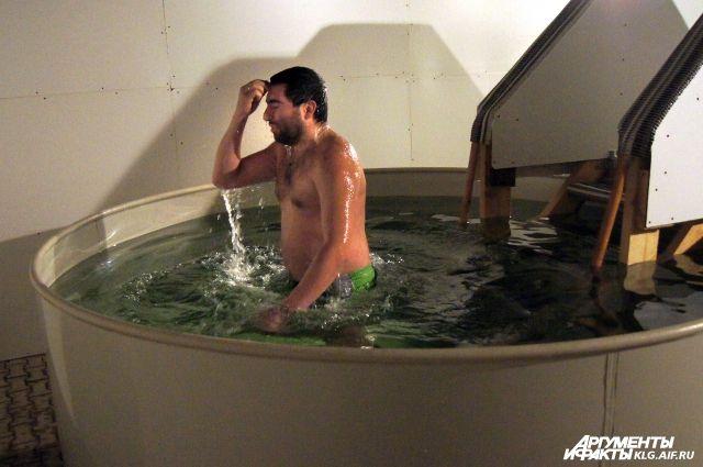 На Крещение в Калининградской области организуют 8 мест для купания.