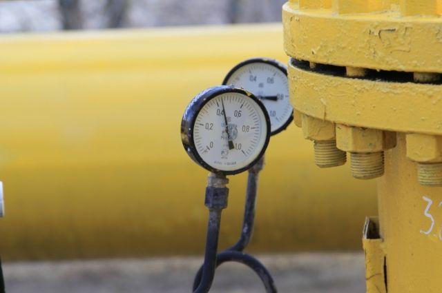 Предприятие должно поставщику за природный газ.
