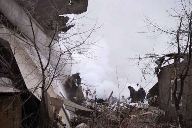 Разбившийся под Бишкеком самолет принадлежал компании Avia Cargo Turkish