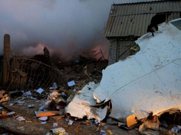 По данным киргизстанских СМИ, самолет протаранил больше 30 домов
