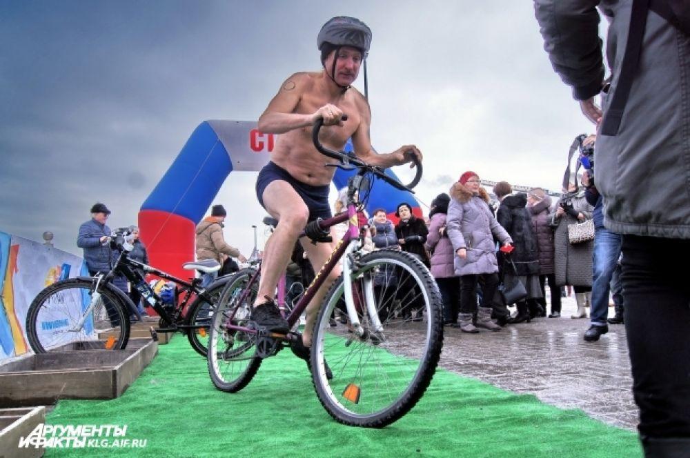 Велозаезд «моржей».