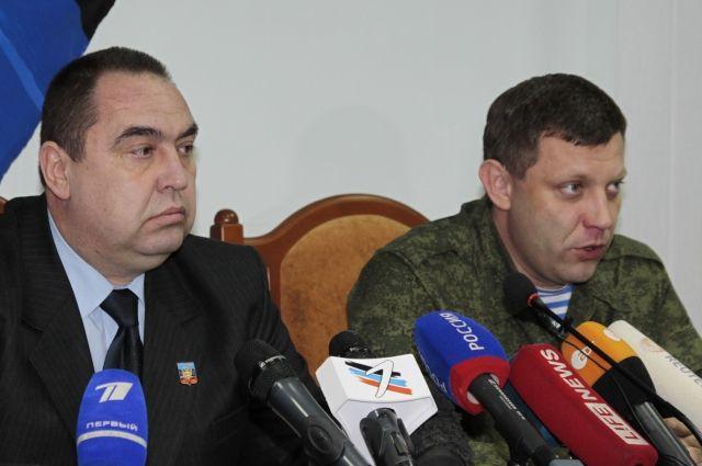 Главы ДНР и ЛНР прибыли в Крым