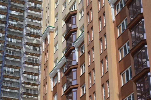 Строительство жилищного комплекса приостановлено