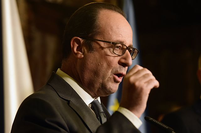 Олланд ответил на критику Трампа в адрес Евросоюза и НАТО