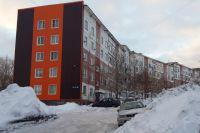Дом на Циолковского, 30. Скорая ехала сверху.