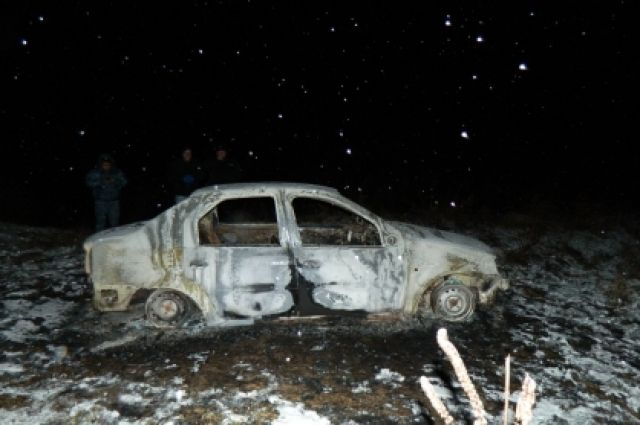 На трассе Оренбург-Самара в пути загорелся автомобиль «ВАЗ»