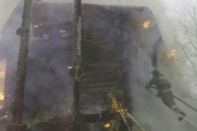 ВУсть-Куте напожаре умер мужчина-инвалид