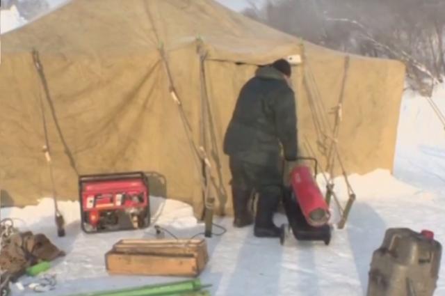 Около купели вКемеровском районе установят метеотабло