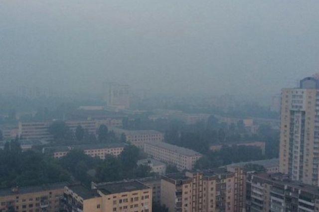 Граждане столицы Украины жалуются настранный дым изапах гари