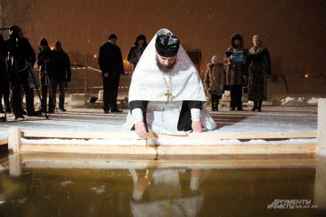 Нижегородские чиновники и народные избранники будут купаться вКрещенскую ночь