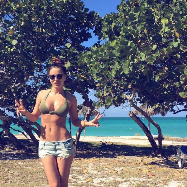 Ани Лорак была с мужем и друзьями в Кубе