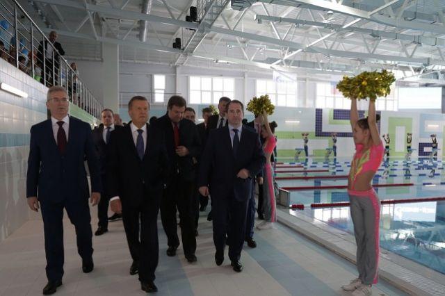 Общая площадь нового спортобъекта - более 4 тысяч квадратных метров.