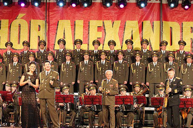 ВЯрославле пройдет концерт впамять обартистах ансамбля имени Александрова