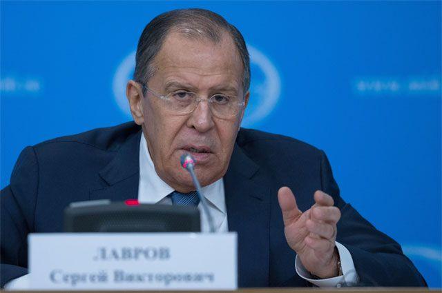 Пресс-конференция главы МИД РФ Сергея Лаврова. Тезисы