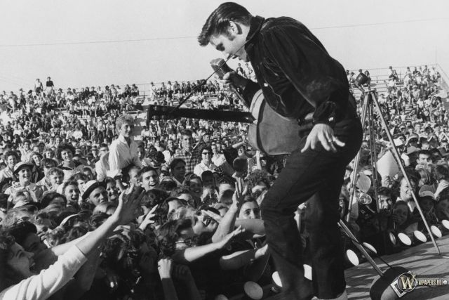 В сети появилось фото «ожившего» Элвиса Пресли