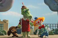 «Наш няшка – Чебурашка» - под таким слоганом в 2013 году вышел ремейк советского мультфильма. Главного героя озвучила Лариса Брохман.
