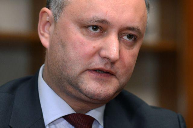 Додон: в отношениях с ЕС нельзя «дружить против России»