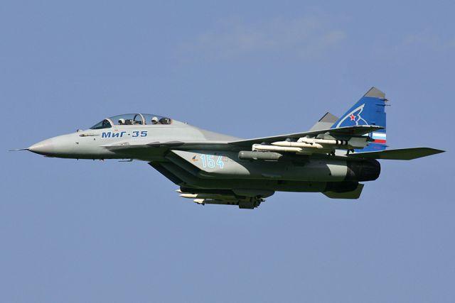 Новый истребитель МиГ-35 покажут публике вконце января