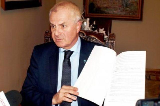 Мэру польского Перемышля запрещен заезд в государство Украину