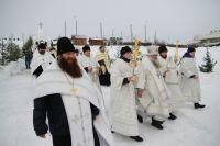 Крестный ход в Барнауле на 19 января
