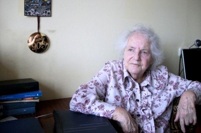 Непобежденная ленинградка Эмма Фербер.