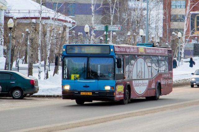 Новосибирких школьников не пускают в автобусы даже в холода