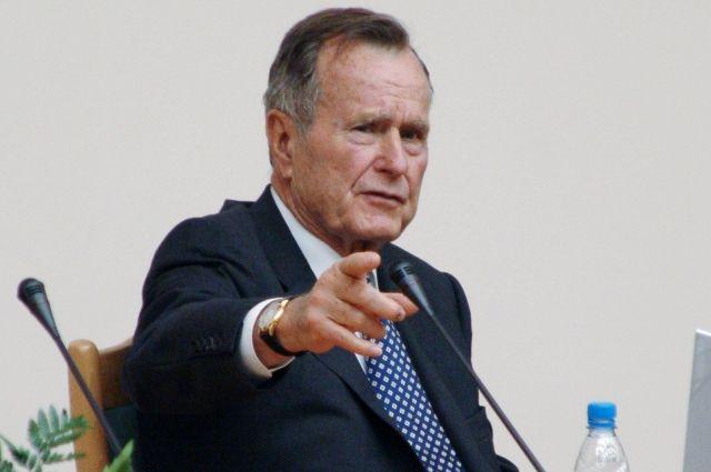 ВСША госпитализирован экс-президент Джордж Буш-старший