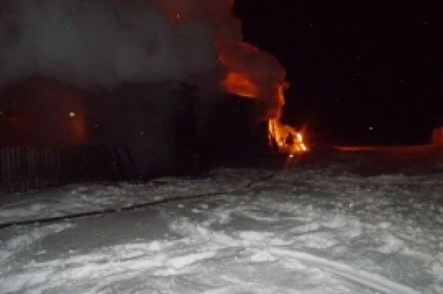 81-летний пенсионер сгорел живьем в личном доме вПервомайском районе